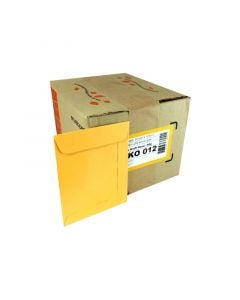 Envelope 097x125 Kraft Ouro Scrity - caixa c/ 250 un