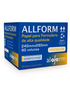Formulário Recibo de Pagamento 2 Vias Branco 2000 fls Aloform