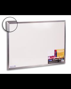 Quadro Branco 100cm x 80cm Moldura em Alumínio Cortiarte