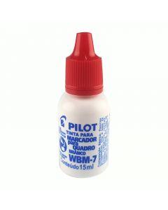 Tinta para Pincel de Quadro Branco Vermelho 15ml WBM-7 Pilot