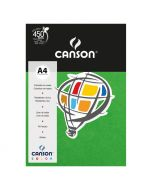 Papel Canson Color Plus A4 180g Verde Claro 10 Folhas