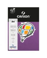 Papel Canson Color Plus A4 180g Violeta 10 Folhas