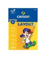 Bloco Layout A4 63g 50 folhas Canson