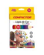 Lápis de Cor 36 Cores Neo-Pen Compactor