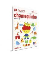 Papel Sulfite Chamequinho Branco A4 Chamex 100 folhas
